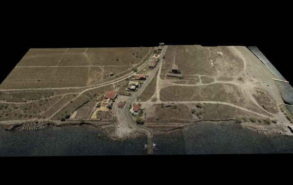 Colorized Point Cloud of Diolkos