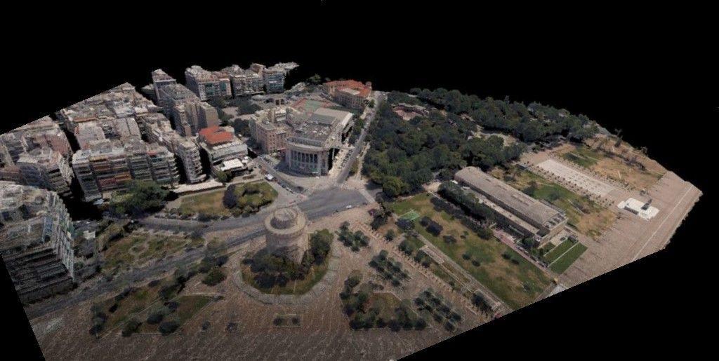 3d urban modelling lidar imagery