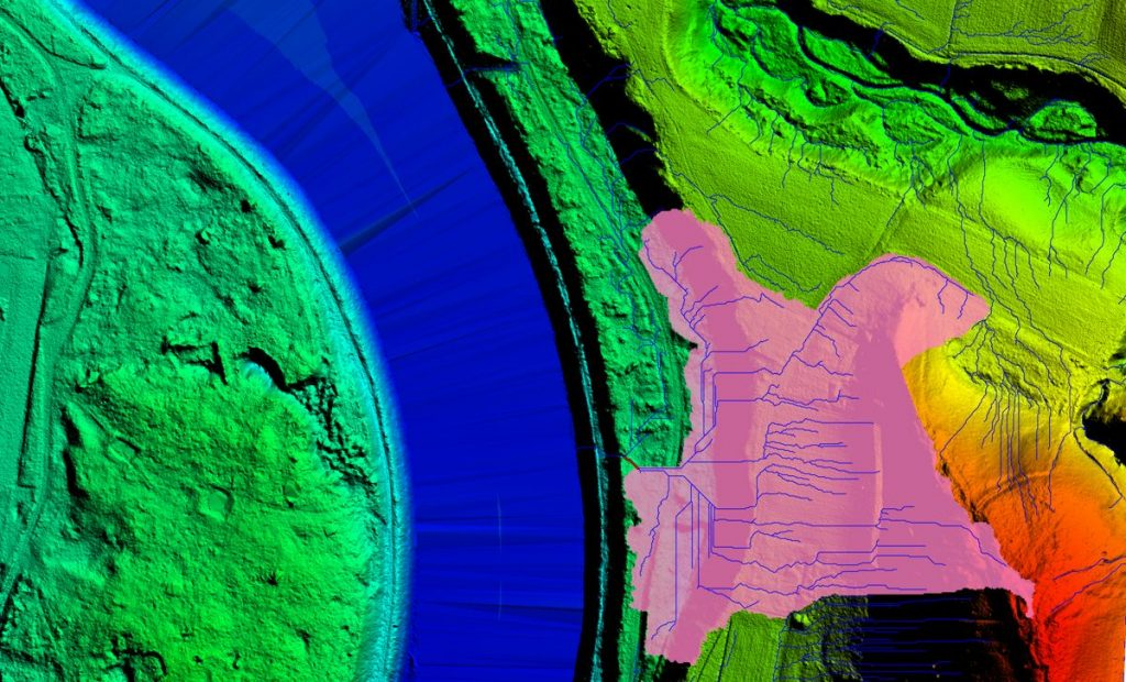 lidar flood modelling watershed